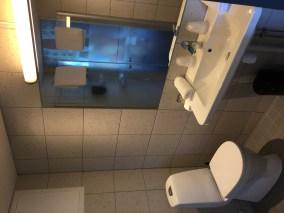 Stamsund Hotel Bathroom, Lofoten Islands, Norway