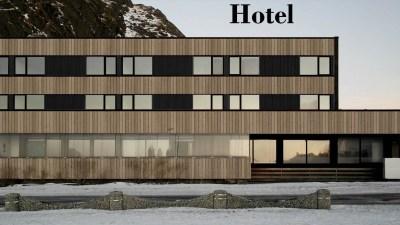 Stamsund Hotel, Lofoten Islands, Norway