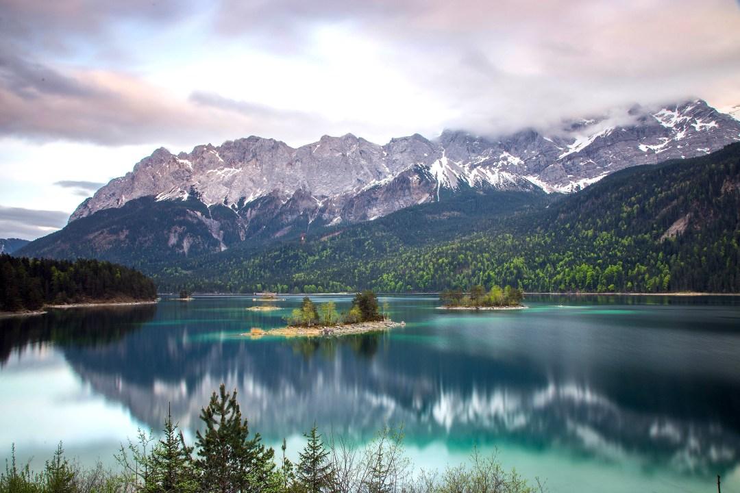 Eibsee Lake, Garmisch-Partenkirchen, Germany
