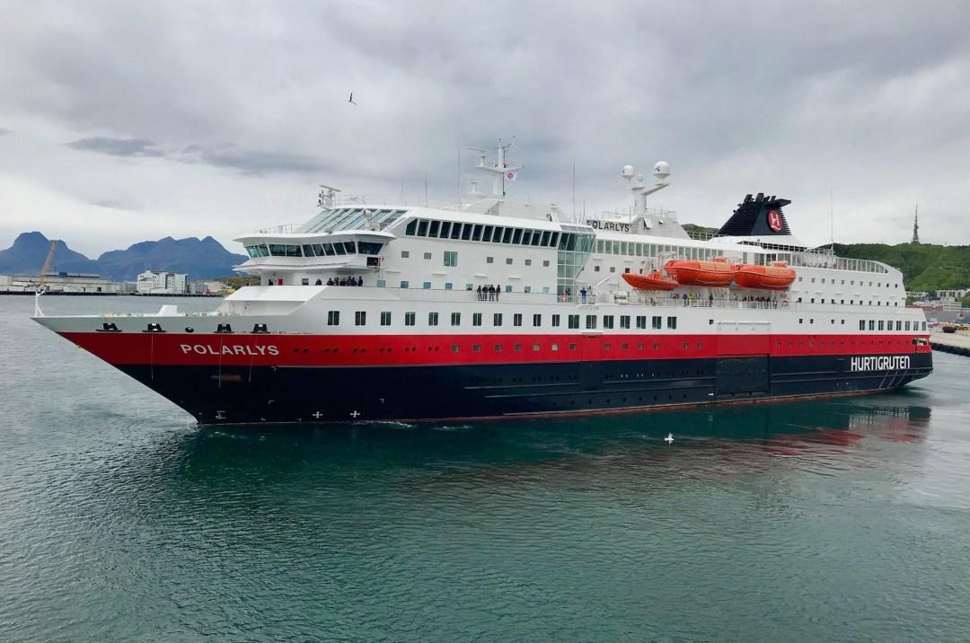 Hurtigruten Cruise Ship, Bodø, Norway | Volant Travel