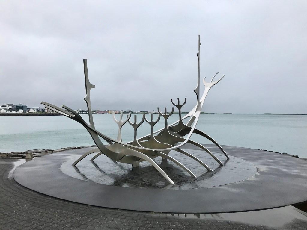 Sun Voyager Sculpture, Reykjavik, Iceland | Volant Travel