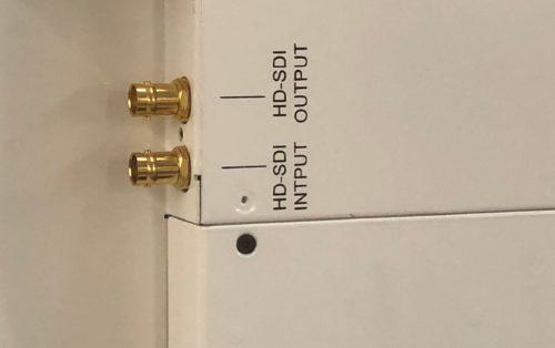 Monitors with HD-SDI