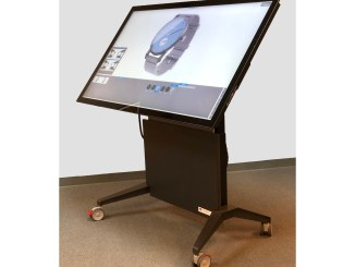 Volanti 65inch lift tilt touch table