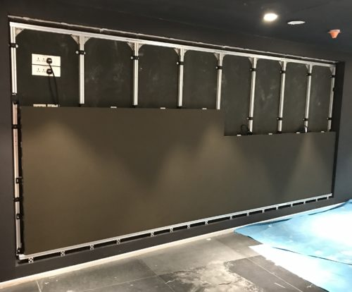 led wall install 4