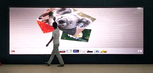 touch screen led video wall