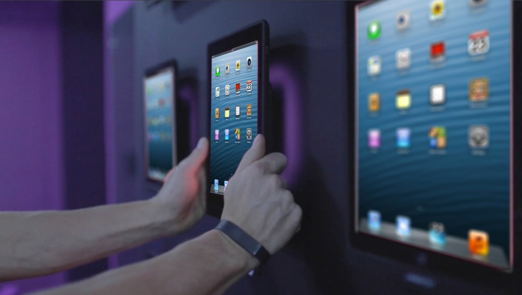 tablet wall