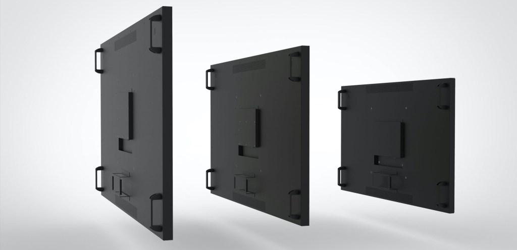 55 65 75 inch monitor even bezel back