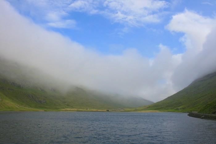 Saksunarvatn in the Faroe Islands photographed by Brian Aslak.
