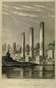 The pillars of Pozzuoli: the frontipiece of Charles Lyell Principles of Geology (1831)