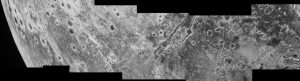 An extensional fault structure on Pluto