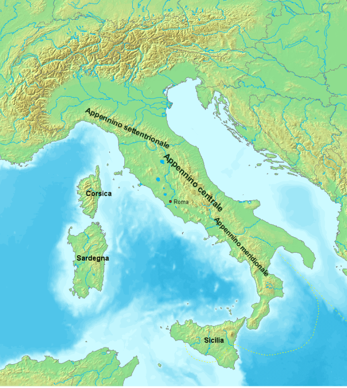 The three Apennines (wikipedia)