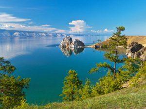 Olkhon island in Lake Baikal