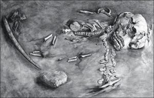 DNA from this ancient Siberian skeleton offers clues to the first Americans. Picture: The State Hermitage museum, St. Petersburg