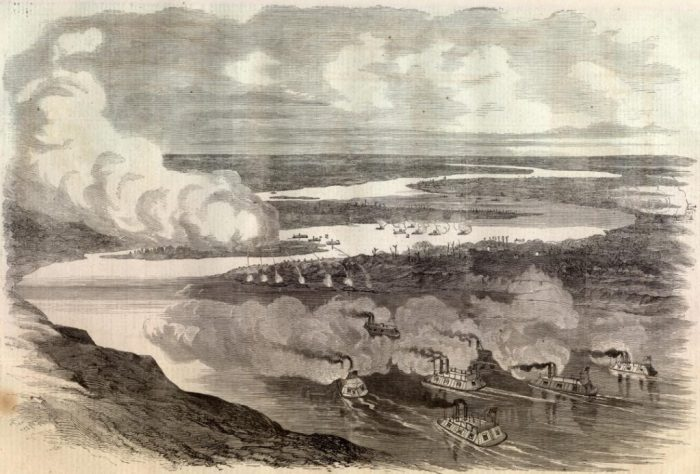 One of the Mississippi islands involved in the disaster, island number 10 near New Madrid, later became the site of a battle in the American civil war. The island has since disappeared