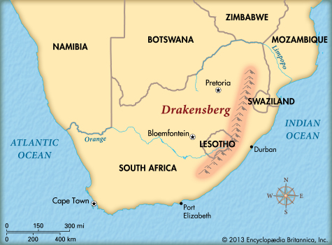 The Drakensberg and the storm that ended Gondwana | VolcanoCafe