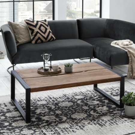 Live Edge sohvapöytä
