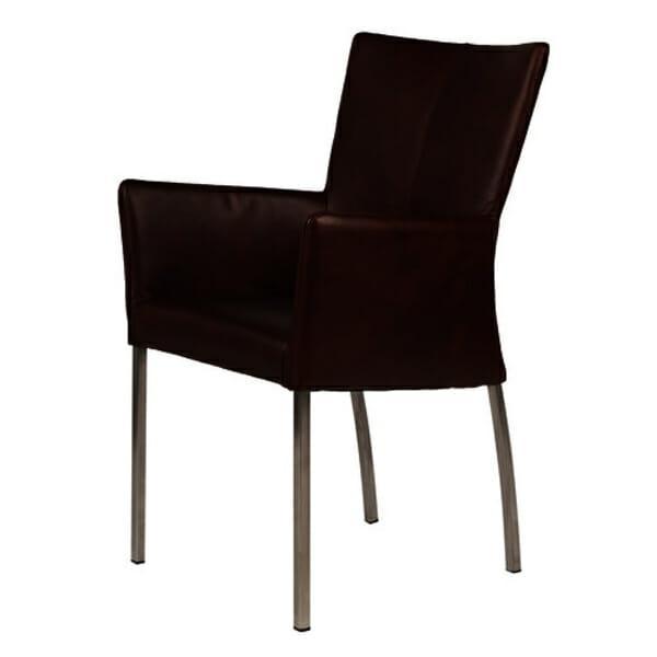 Tuoli käsinojilla Bonanza Dark Tan