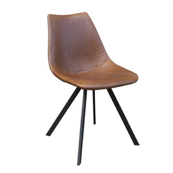Tuoli, ruskea, 2-setti