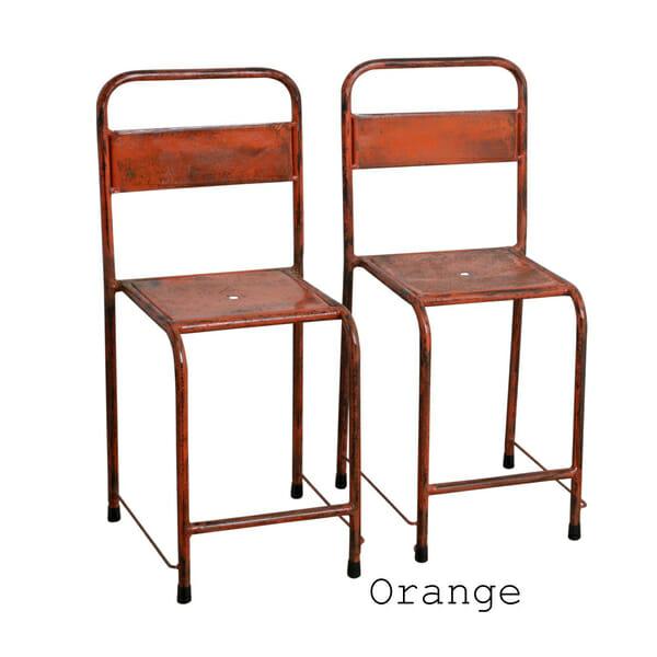 Java tuoli oranssi 2-setti