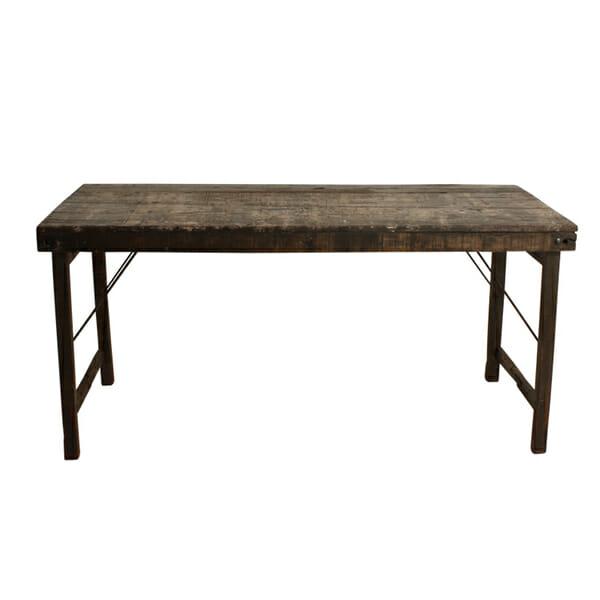 Ruokapöytä, ruskea