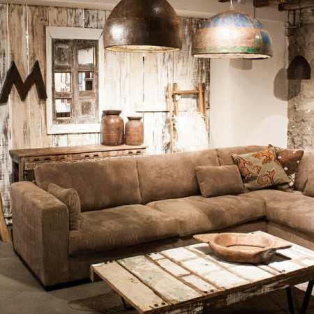 Scrapwood sohvapöytä, monivärinen