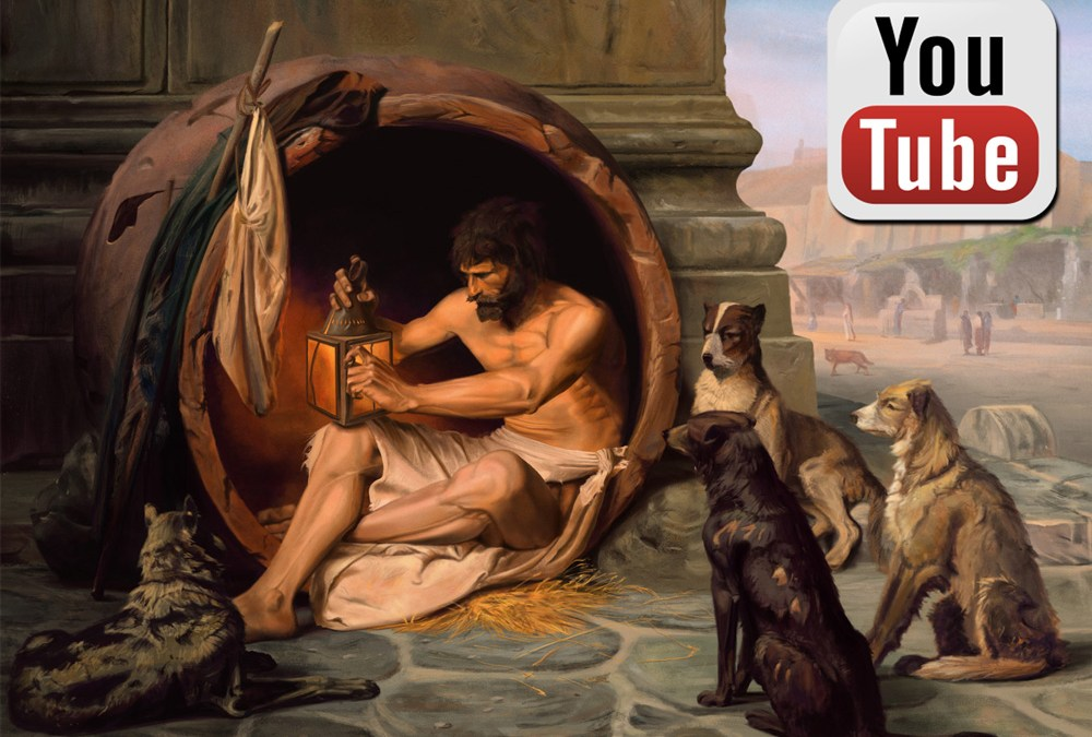 Diogenes-Master-Study-Painting