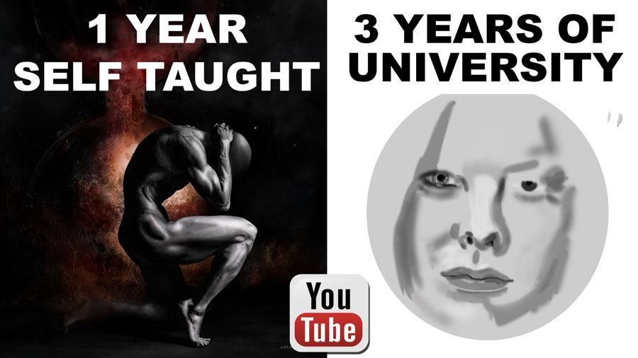 Self-Taught-University-Art School