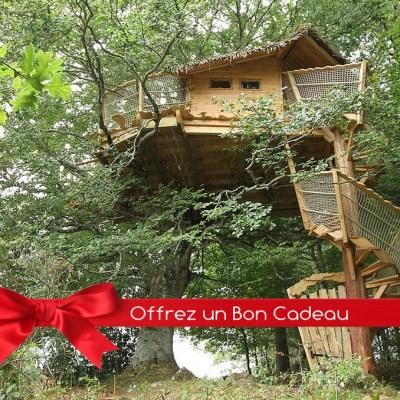 Bon Cadeau Cabane Arbres