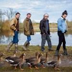 Film sur les oies avec Christian MOULLEC