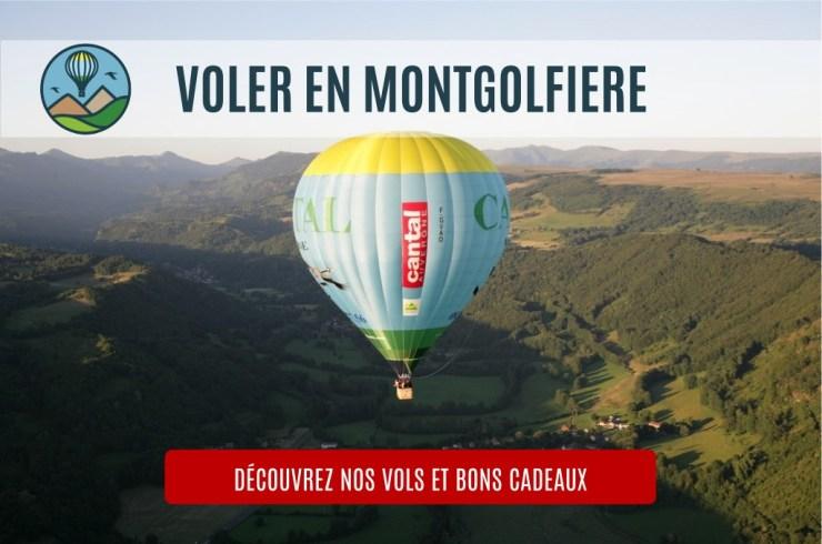 Voler en mongtgolfière Cantal