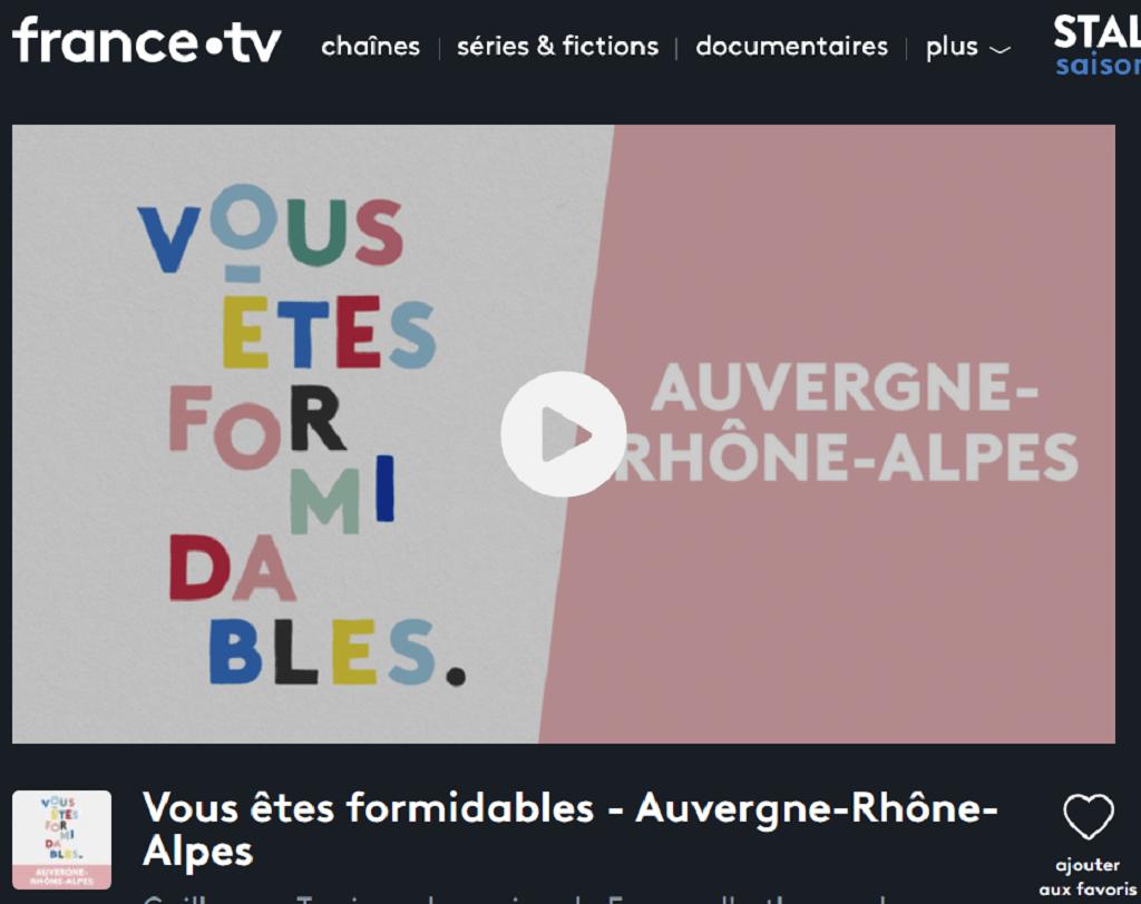 Vous êtes formidables - Auvergne - Rhone- Alpes Christian Moullec