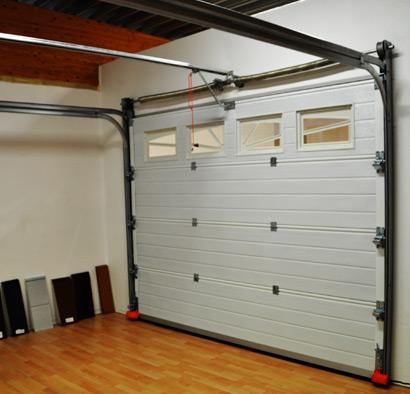 Porte De Garage Sur Mesure Sectionnelle Ou Enroulable A Prix Bas