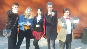 Doctor Who cosplay - Lucca Comics and games 2016