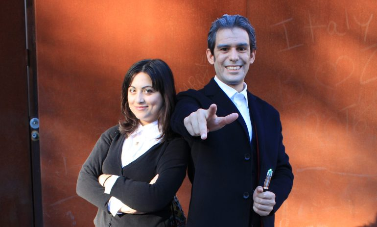 Clara and the doctor cosplay
