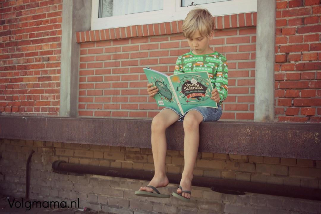 Young Scientist vakantieboek - perron - Volgmama