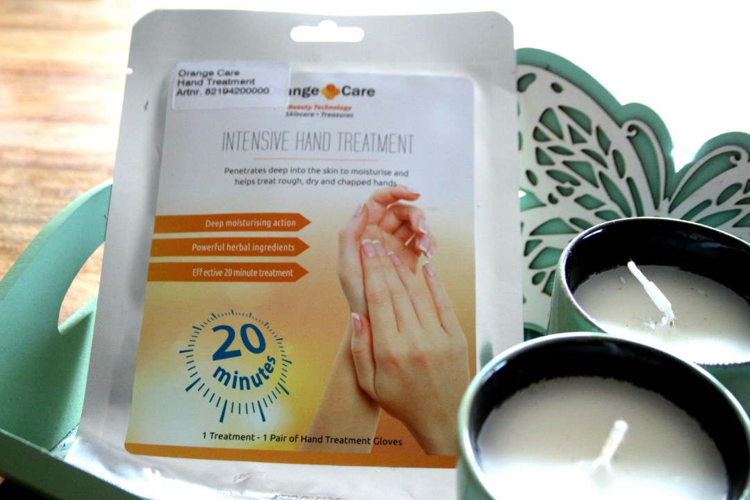 orange care, handmasker, handverzorging, review