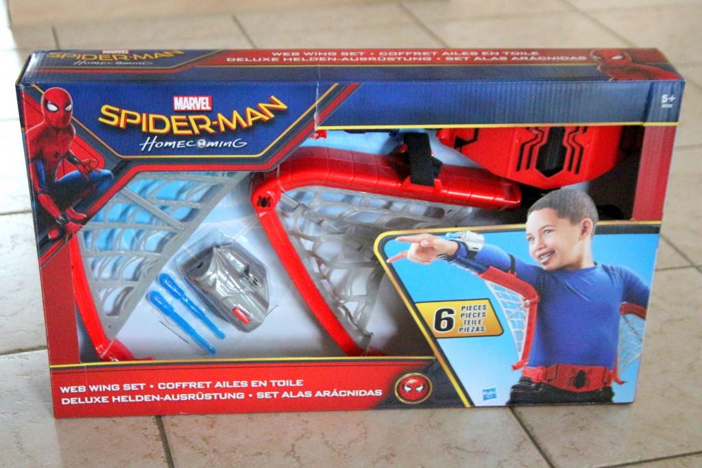 spider-man webwings, spider-man vleugels,