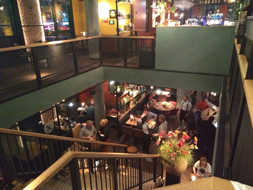 Moeke Grand Café Enschede aan de oude markt - Hotspot Twente - Blog review
