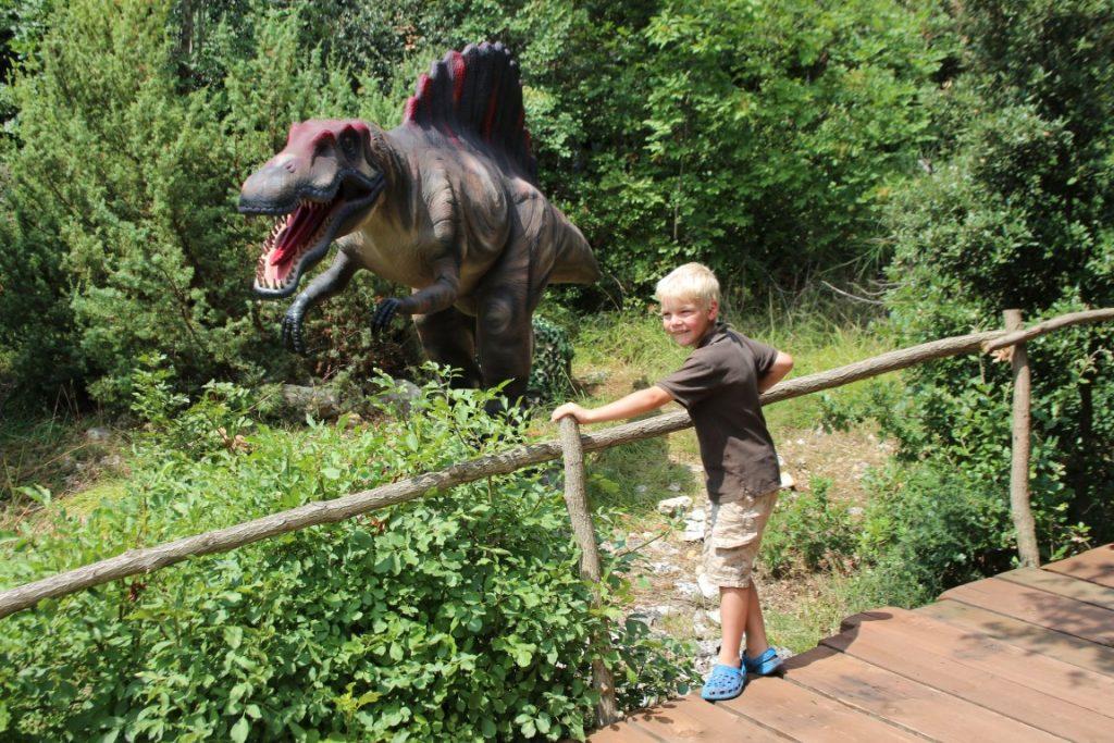Dinopark Funtana Kroatië Istrië