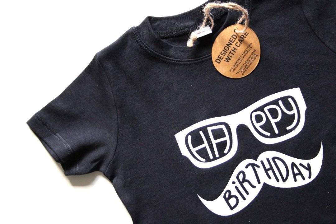 Geliefde Verjaardag shirts voor kinderen ontwerpen en bedrukken &ZZ85