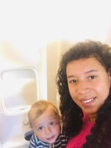 Ervaring alleen vliegen met baby