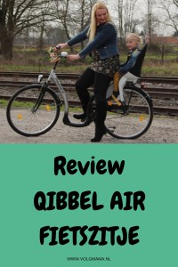 Review ervaringen Qibbel Air fietszitje