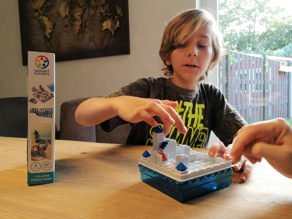 Review Atlantis Escape Smartgames met kinderen