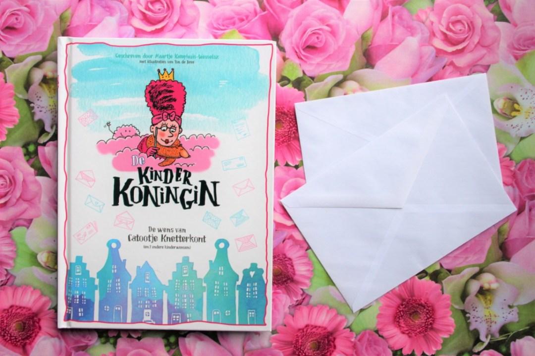 Review Boek De Kinder Koningin van Maartje Kamphuis - Wesselsz