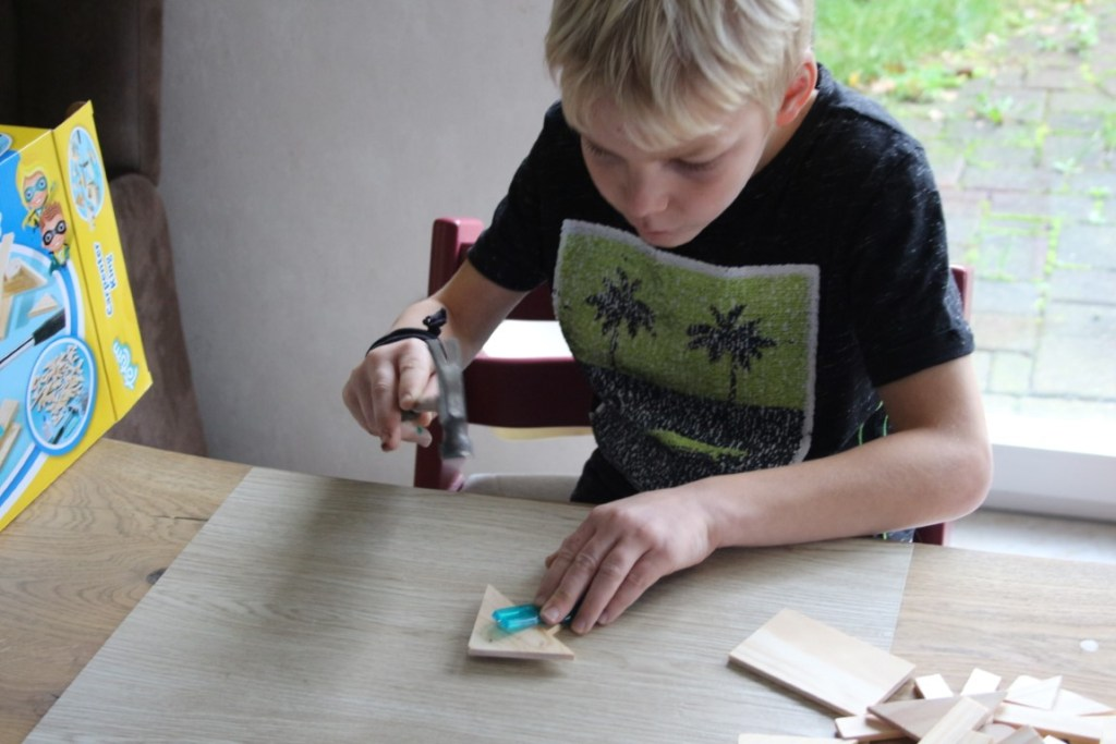 Totum timmeren met hout