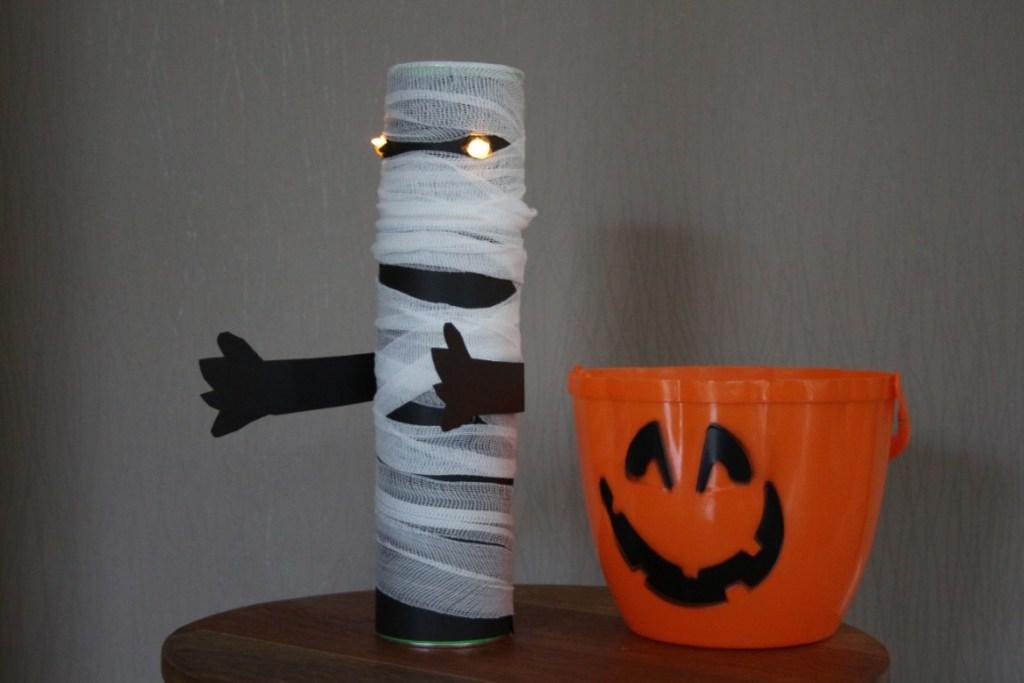 Zombie knutselen - Halloween knutselen