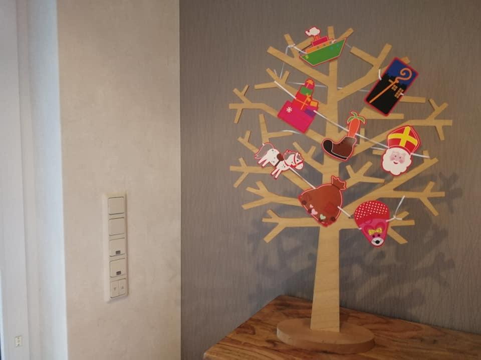 Seizoensboom Sinterklaas