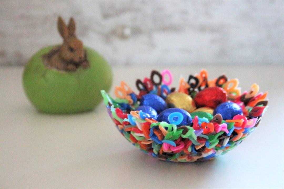 Goede Paasmandjes knutselen; mandjes voor Pasen maken met peuters, kleuters EQ-75