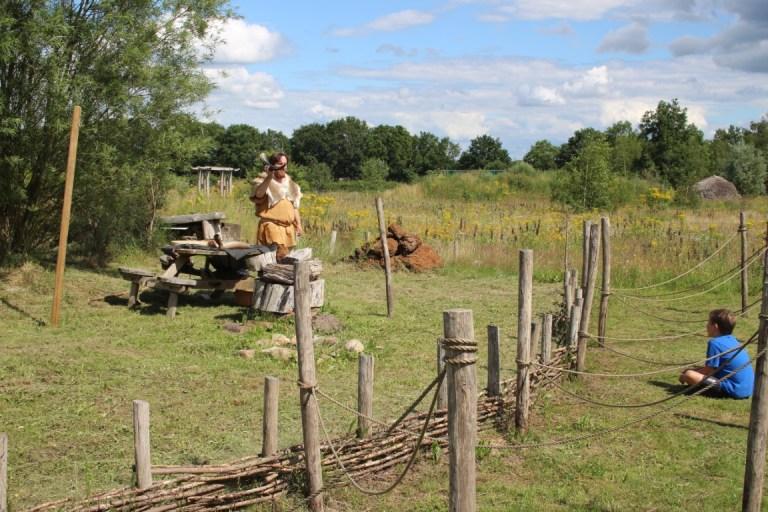 Oertijdpark Prehistorisch dorp Drenthe Borger