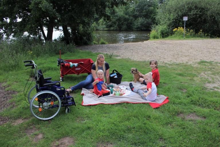 Picknick met kinderen